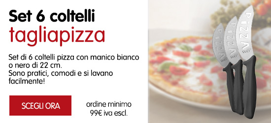 set 6 coltelli pizza