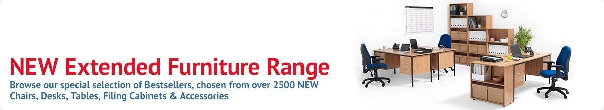NEW Extended Furniture Range